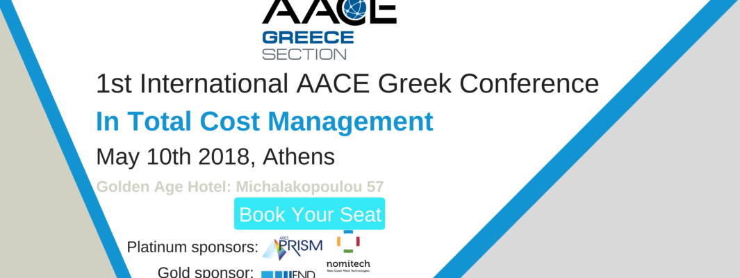 AACE greek conference banner with names