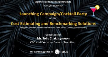 Cocktail Party in Cyprus - Cost Estimating and Benchmarking Solutions invitation